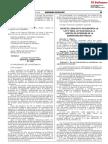 Decreto Legislativo que modifica la Ley N° 28024 Ley que regula la gestión de intereses en la Administración Pública