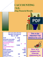 Chapter 05 - (the Accounting Cycle. Reporting Financial Results)