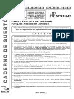Analista de Trânsito - Assessor Jurídico - V