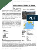 Sismo e Tsunami Do Oceano Índico de 2004 – Wikipédia, A Enciclopédia Livre