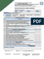 Ficha de Observación y Evaluación de La Sesión de Aprendizaje
