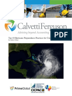 091318 Top 10 Hurricane Preparedness Practices for Construction Sites
