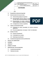 CONTENIDO. 2.2.1 Relevamiento Geológico de Superficie