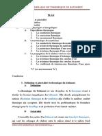 Chap 1; Notion Generales de Thermique Du Batiment