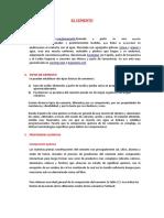 Informe Cemento II