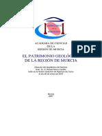 Patrimonio Geológico de La Región de Murcia