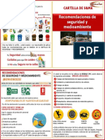 Cartilla de Seguridad y Medio Ambiente