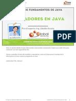 CFJ a Leccion Operadores en Java