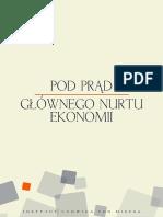 Pod Prad Glownego Nurtu Ekonomii