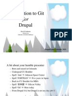 Git for Drupal