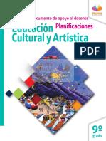 Educación Cultural y Artística 9no EGB Muestra