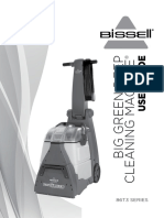 BISSELL User Guide Big Green Carpet Cleaning Machine 86T3