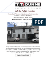 Brochure 2018 - Auction - The Clubhouse Rathdowney - PDF