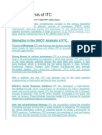 SWOT Analysis of ITC.docx