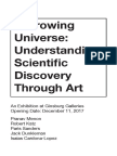 Wanderers In Space Art Exhibition Brochure