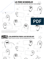ghouls for schools box tops collection sheet