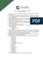 Estudo dirigido Hematologia - I Unidade.doc