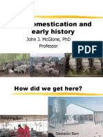 Pig Domestication and Early History Changes