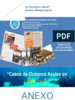 Casos de Oceanos Azules en El Ecuador