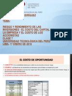 EL COSTO DE CAPITAL DE LA EMPRESA Y DE LOS ACCIONISTAS.pptx