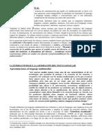 3 - El Lenguaje Audiovisual - 4 Carillas