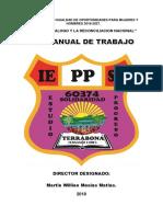 PLAN ANUAL DE TRABAJO 2018 IEPPSM N° 60374 COMUNIDAD DE TERRABONA FERNANDO LORES
