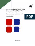 Apple Watch Series 4 Versus Older Model Printable Guide