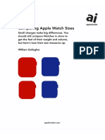 Apple Watch Series 4 Versus Older Model Printable Guide