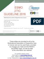 Mascc Antiemetic Guidelines English v.1.2.1