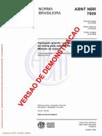 Agregado Graúdo - Determinação Do Índice de Forma Pelo Método Do Paquímetro - Método de Ensaio(Full Permission)