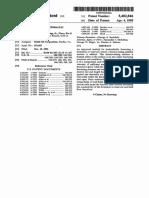 US Patent - Phenol -Hydraulic Fracturing
