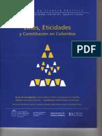 Eticidades, Poder Constituyente y Constitución en Colombia