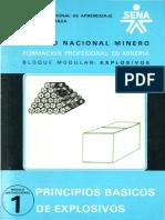 Principios Basicos de Explosivos Cartilla Sena