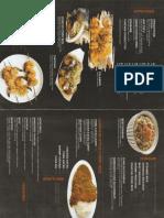 Ramen Fuji menu - back