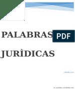 Trabajo Palabras Juridicas
