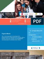 Presentación de Nicolás Tejos - Programa Tus Ideas, País Digital en VI Summit País Digital