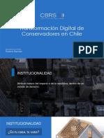 Presentación de Roberto Bennett - Conservador de Bienes Raíces Stgo., en VI Summit País Digital 2018