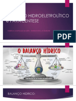 BALANÇO HIDROELETROLÍTICO