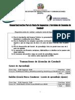 Manual Instructivo Para la Venta De Impuestos y Servicios …