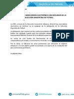 El comunicado de la AFIP.