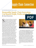 Responsible Supply Chain Innovations