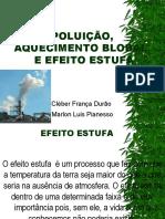 Aquecimento Blobal, Polui%c7%c3o e Efeito Estufa