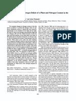 37 8 1083.PDF Nitrogen Deficit