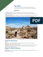 Clasificación del clima.docx