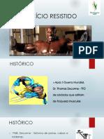 EXERCICIOS RESISTIDO CINESIOLOGIA