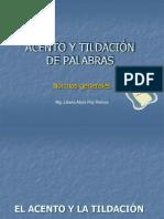 TILDACIN DE PALABRAS