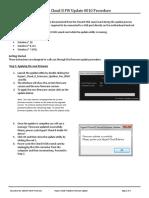 CloudII FW Update 0010-Update-Instructions