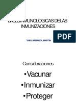 Bases Fisiologicas de La Inmunizacion