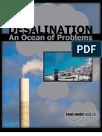 Desalination an Ocean of Problems