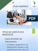 Exercício Resistido Part 2